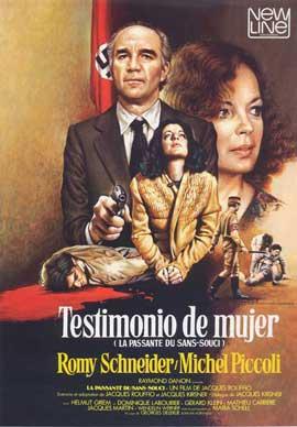 La passante du Sans-Souci - 27 x 40 Movie Poster - Spanish Style A