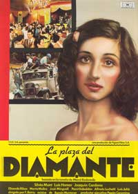 La plaaa del diamant - 43 x 62 Movie Poster - Spanish Style A