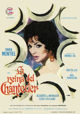 La reina del Chantecler - 27 x 40 Movie Poster - Spanish Style A