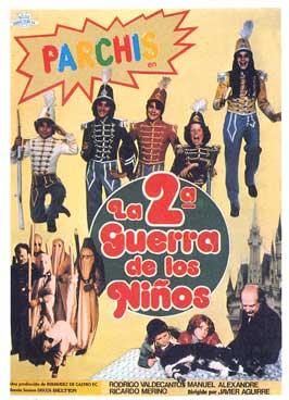 La segunda guerra de los ninos - 27 x 40 Movie Poster - Spanish Style A