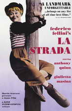 La Strada - 11 x 17 Movie Poster - Style C