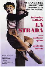 La Strada - 27 x 40 Movie Poster - Style A