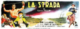 La Strada - 13 x 28 Movie Poster - Italian Style A