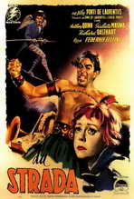 La Strada - 27 x 40 Movie Poster - Italian Style A