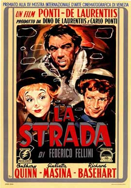 La Strada - 11 x 17 Poster - Foreign - Style A