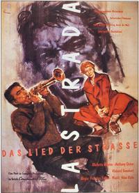 La Strada - 11 x 17 Movie Poster - German Style A
