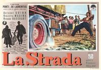 La Strada - 11 x 14 Poster Italian Style B