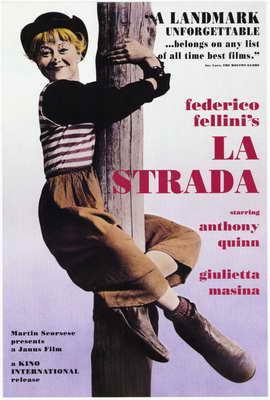 La Strada - 27 x 40 Movie Poster - Style A