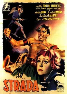 La Strada - 11 x 17 Movie Poster - Italian Style A