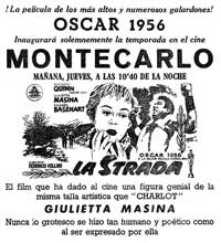 La Strada - 11 x 17 Movie Poster - Spanish Style A