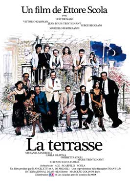 La terrazza - 27 x 40 Movie Poster - French Style A
