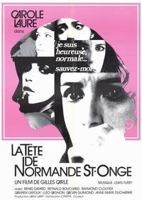 La Tete De Normande St Onge - 11 x 17 Movie Poster - Style A
