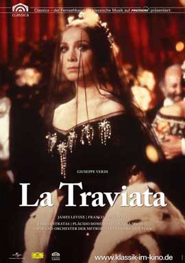 La Traviata - 11 x 17 Movie Poster - German Style A