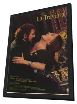 La Traviata - 11 x 17 Movie Poster - Style A - in Deluxe Wood Frame