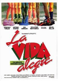 La Vida alegre - 11 x 17 Movie Poster - Spanish Style A