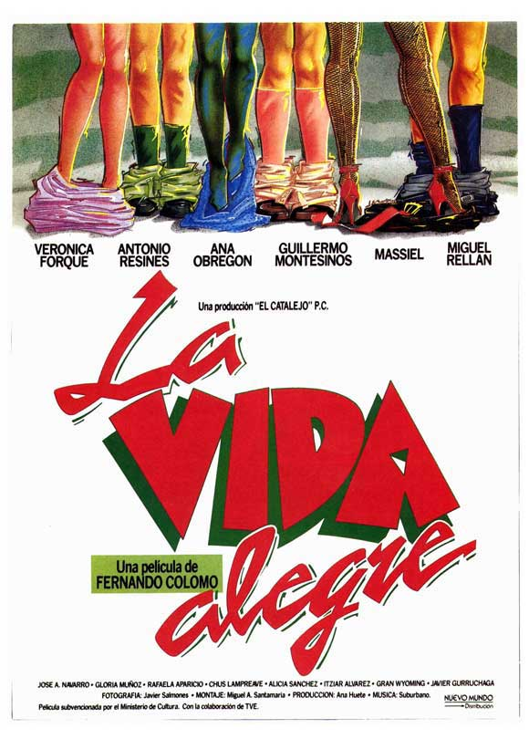 La vida alegre movie