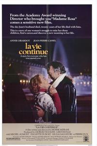 La Vie Continue - 11 x 17 Movie Poster - Style A