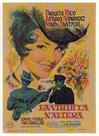 La viudita naviera - 11 x 17 Movie Poster - Spanish Style A