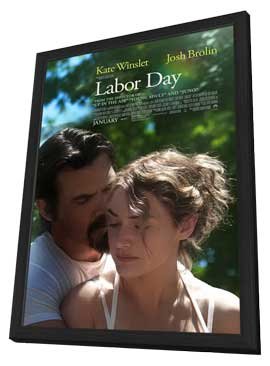 Labor Day - 11 x 17 Movie Poster - Style B - in Deluxe Wood Frame