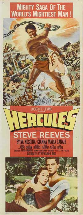 Labors of Hercules - 14 x 36 Movie Poster - Insert Style A