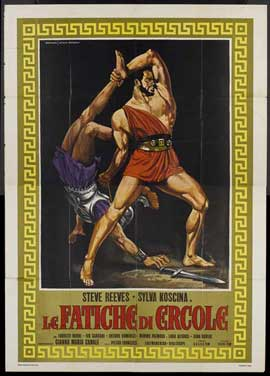 Labors of Hercules - 27 x 40 Movie Poster - Italian Style A