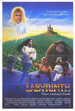 Labyrinth - 27 x 40 Movie Poster - Style B