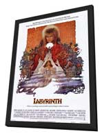 Labyrinth - 11 x 17 Movie Poster - Style A - in Deluxe Wood Frame