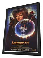 Labyrinth - 27 x 40 Movie Poster - Style C - in Deluxe Wood Frame