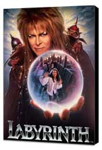Labyrinth - 11 x 17 Movie Poster - Style E - Museum Wrapped Canvas