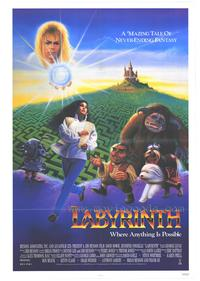 Labyrinth - 43 x 62 Movie Poster - Bus Shelter Style A