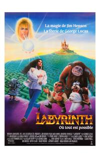 Labyrinth - 11 x 17 Movie Poster - French Style A