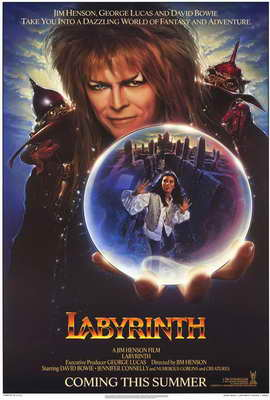 Labyrinth - 27 x 40 Movie Poster - Style C