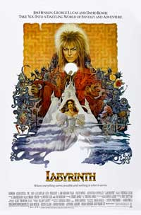 Labyrinth - 43 x 62 Movie Poster - Bus Shelter Style B