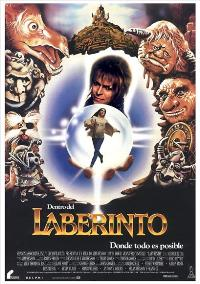 Labyrinth - 11 x 17 Movie Poster - Spanish Style B