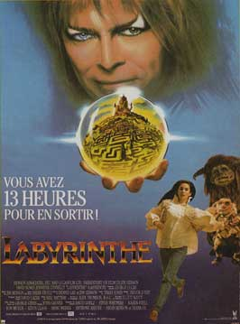 Labyrinth - 11 x 17 Movie Poster - French Style B