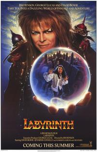 Labyrinth - 11 x 17 Movie Poster - Style B - Museum Wrapped Canvas