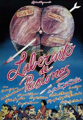 Labyrinth of Passion - 27 x 40 Movie Poster - Spanish Style A