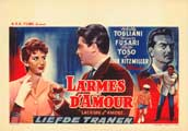 Lacrime d'amore - 27 x 40 Movie Poster - Belgian Style A