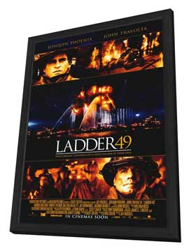 Ladder 49 - 11 x 17 Movie Poster - Style C - in Deluxe Wood Frame