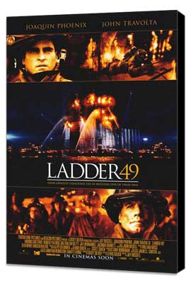 Ladder 49 - 27 x 40 Movie Poster - Style B - Museum Wrapped Canvas