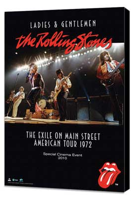 Ladies and Gentlemen: The Rolling Stones - 11 x 17 Movie Poster - Style A - Museum Wrapped Canvas