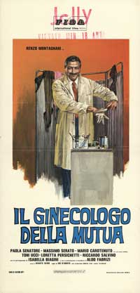 Ladies' Doctor - 13 x 28 Movie Poster - Italian Style A