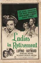 Ladies in Retirement - 27 x 40 Movie Poster - Style B
