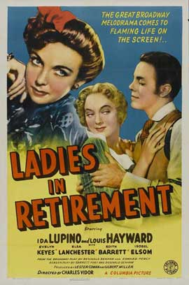 Ladies in Retirement - 11 x 17 Movie Poster - Style A