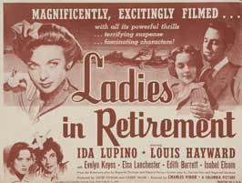 Ladies in Retirement - 11 x 17 Movie Poster - Spanish Style A