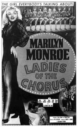 Ladies of the Chorus - 11 x 17 Movie Poster - Style A