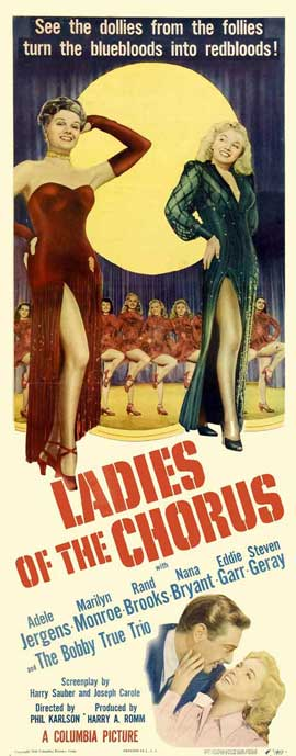 Ladies of the Chorus - 14 x 36 Movie Poster - Insert Style A