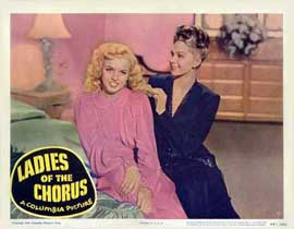 Ladies of the Chorus - 11 x 14 Movie Poster - Style C