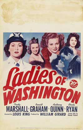 Ladies of Washington - 27 x 40 Movie Poster - Style A