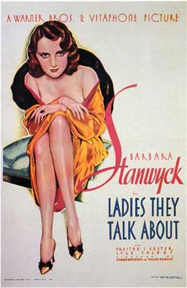 Ladies They Talk About - 11 x 17 Movie Poster - Style A